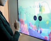 Transparent display to hire