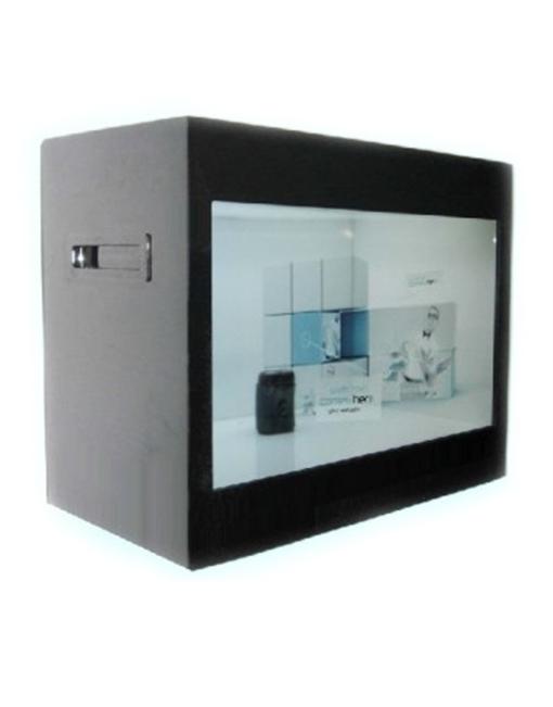 Black Transparent Display