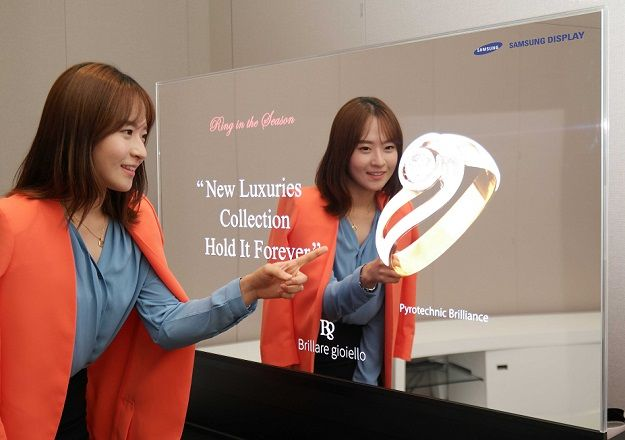 Samsung 55 mirrored oled panel 2015