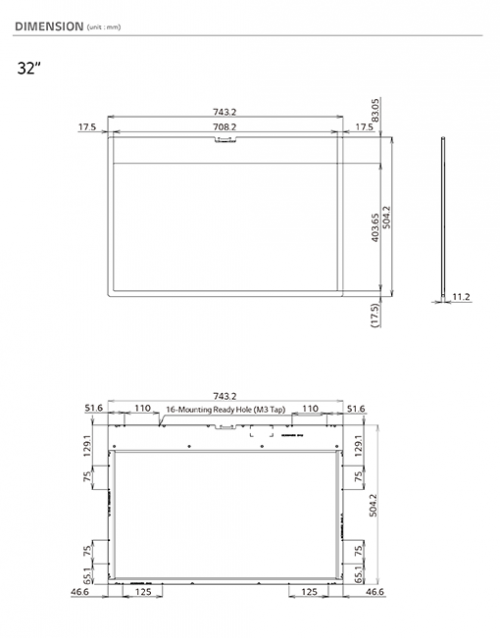 32 transparent screen panel Virtual On