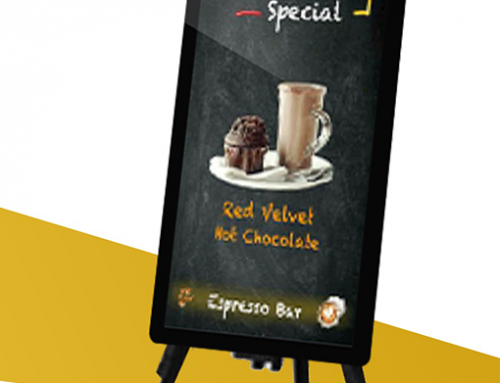 Digital Blackboard for Restaurants