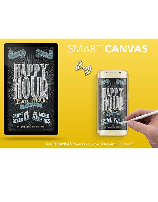 Smart Canvas board add