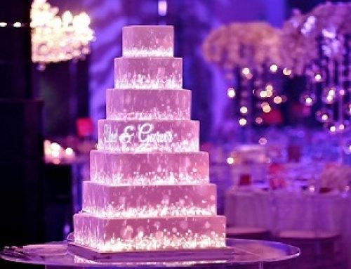 Video Mapping Projection on a Cake