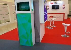 3M virtual On exhibition