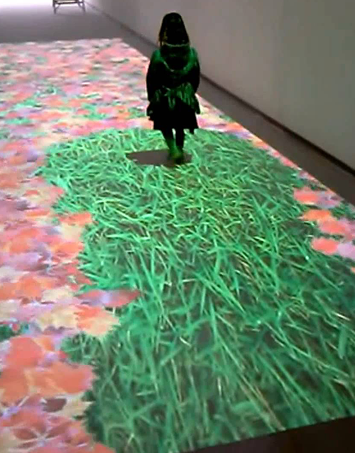 Interactive projections wall floor windos 11