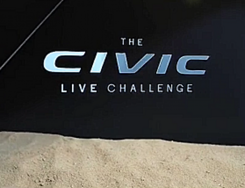 Video Content, Honda Civic Challenge, London
