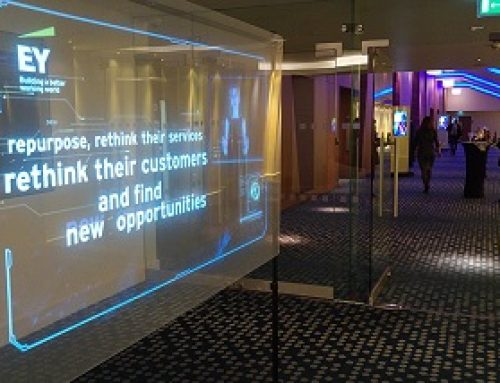 Holographic Transparent Screen, Hilton London