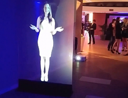 Holographic Presenter, London