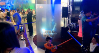 Star wars hologrphic screen projection