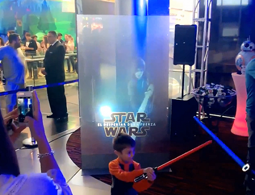 Real Time Projection, Star Wars Event, Montevideo