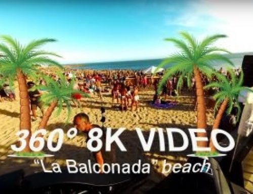 "360 8K Video Sunset, ""La Balconada"" Beach"