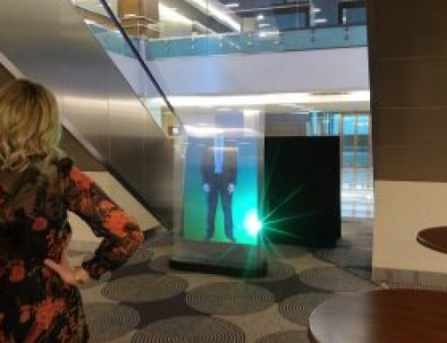 Holographic Screen in Sofitel Heathrow, London