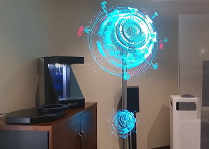 Holographic-led-fan-display-showroom