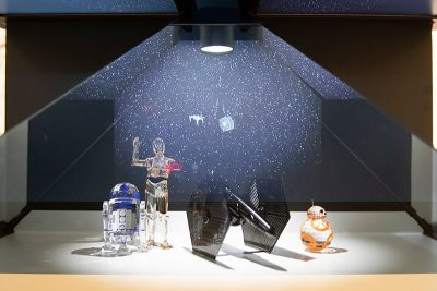 Disney Dupont Swarovski Star Wars event 1