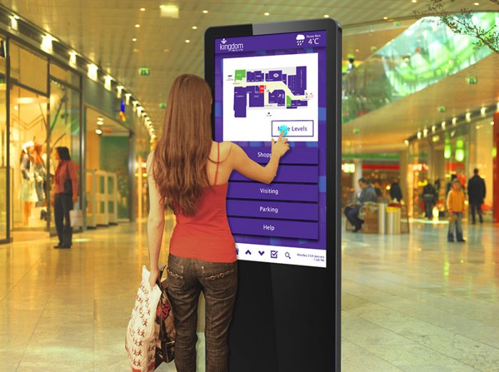 Infrared Freestanding Touch Screen with Dual OS - Image (4)