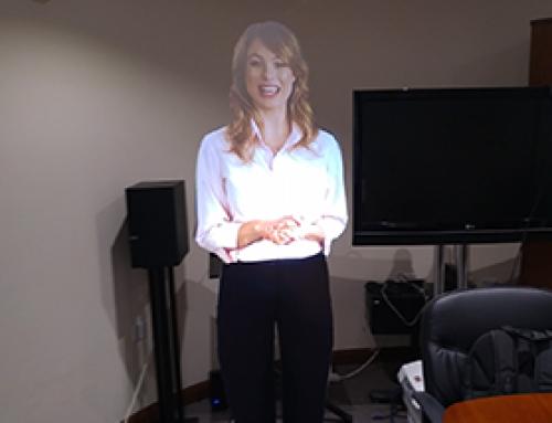 Virtual Mannequin or Presenter Sample
