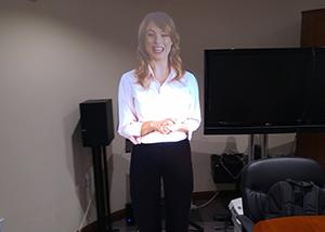 Virtual Mannequin Presenter Office Sample