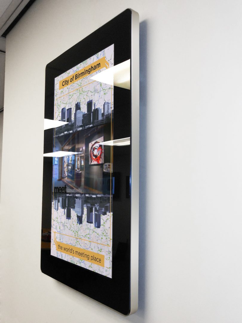 Android Advertising Displays poster wall mount