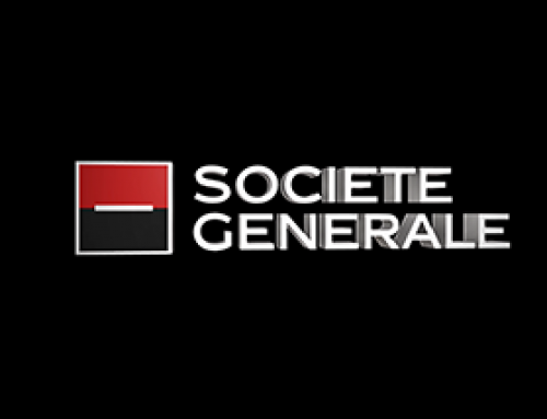 Holographic LED Fans, Societe Generale, UK