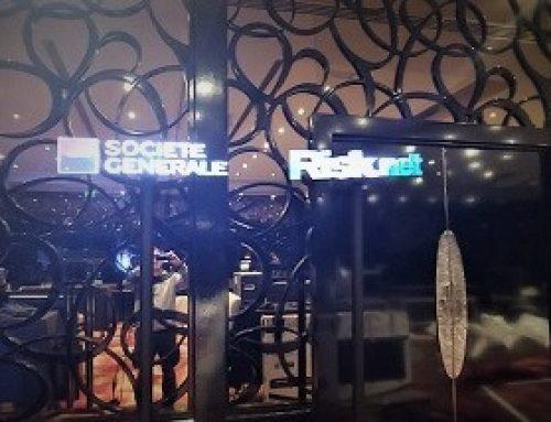 Holographic LED Fans, Societe Generale, UK