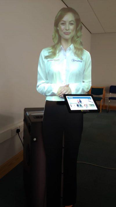 Interactive Virtual Mannequin Presenter 3