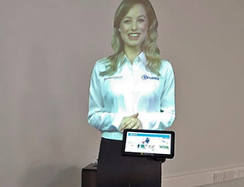 Interactive Self-Service Virtual Presenter, UK