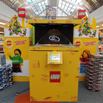 LEGO POS Holograms at FNAC Montparnasse Paris France portfolio