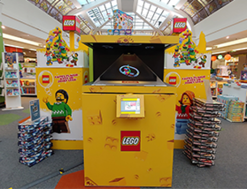 LEGO POS Holograms at  FNAC Montparnasse, Paris