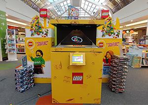 LEGO POS Holograms at FNAC Montparnasse Paris France portfolio