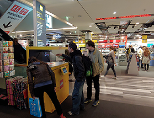 LEGO POS Holograms at FNAC Ternes, Paris