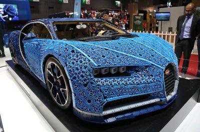 Lego, Bugatti Chiron in Paris Motor Show 3