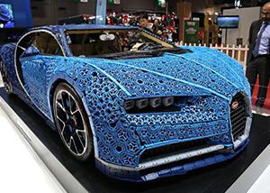 Lego, Bugatti Chiron in Paris Motor Show 30
