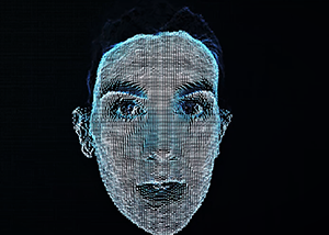 Holographic Face 1