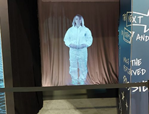 Merck's Full Human Size Hologram Atlanta, US