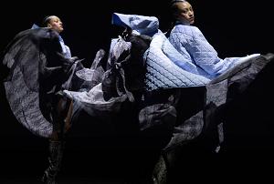 Full human size hologram in a fashion event Paris Fashion Week