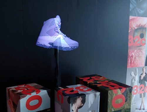 Hologram 3D Projection 032&Adidas France, UK