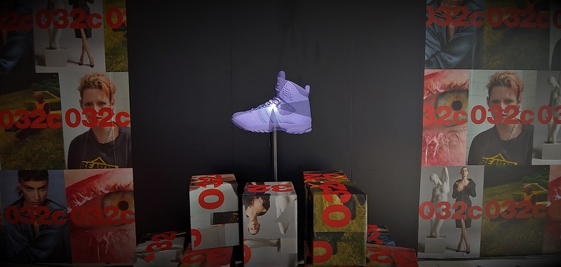 Hologram 3D Projection shoes
