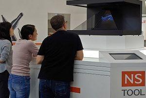 Japan hologram exhibition Germany