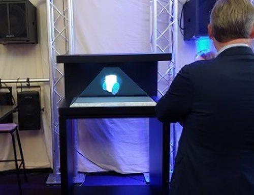 Hologram Display, Xyleminc, Berlin & UK