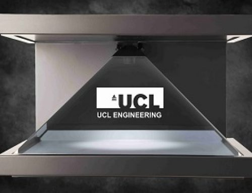 Interactive Holographic Display, UCL, London