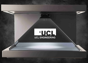UCL holographic display and virtual video content