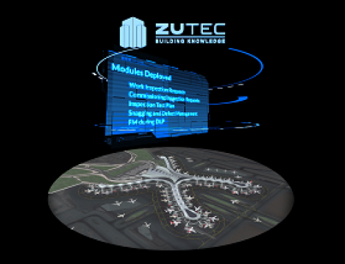 Video content & holographic pyramid, Zutec, Excel, London