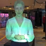 PwC virtual mannequin corporate event in UK