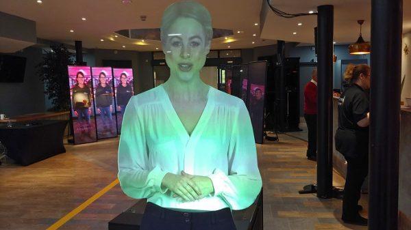 PwC virtual mannequin corporate event in UK