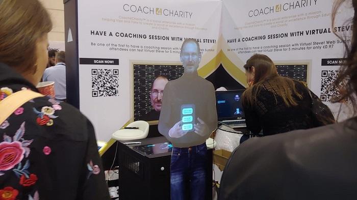 Steve Jobs Virtual Hologram