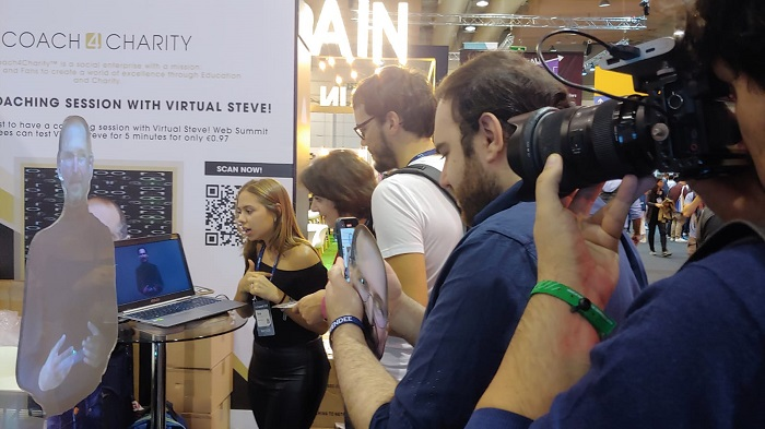Virtual Mannequin at Web Summit Lisbon Portugal