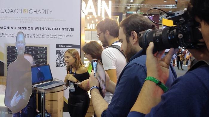 Virtual Mannequin at Web Summit Lisbon Portugal