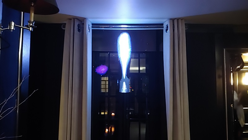 Holographic LED Fan used by Boghossian Jumeirah Mayfair London 1