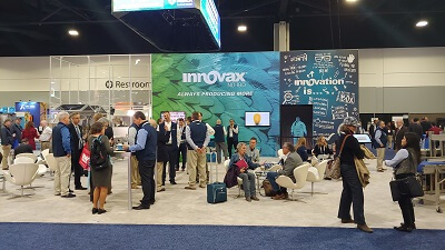 Virtual-On-Holographic -stage- projection-in-IPPE-Atlanta