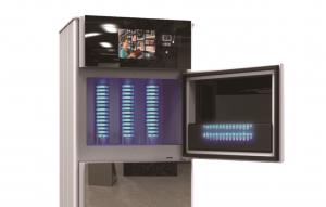 book steriliser for libraries model 301 open